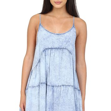 Acid Wash Denim Dress at Blush Boutique Miami - ShopBlush.com : Blush Boutique Miami – ShopBlush.com