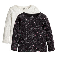 2-pack Jersey Tops - from H&M