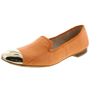 Sam Edelman Womens Aster Leather Toe Cap Smoking Loafers