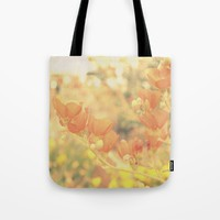 Warm Tones & Petals Tote Bag by RichCaspian