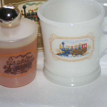 Iron Horse Shaving Mug and Aftershave Full With Box