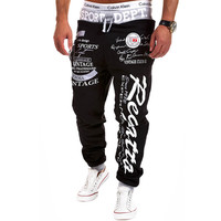 Outdoor Trousers Hot Sale Casual Mens Letter Printing Baggy Harem Cool Long Loose Sweatpants Jogger Sport wear Pants Size M-3XL