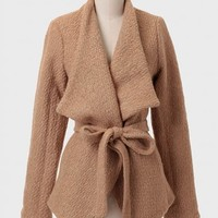 Mount Carmel Sash Belt Coat