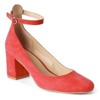 Ankle-Strap Block Heels | Gap