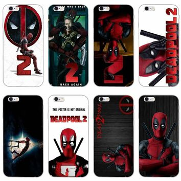 Marvel Deadpool 2018 slim silicone Soft phone case For Samsung Galaxy J1 J2 J3 J5 J7 A3 A5 A7 2015 2016 2017
