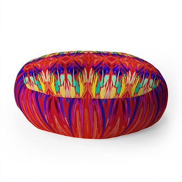 Holly Sharpe Carnival 01 Floor Pillow Round