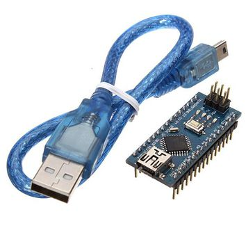3Pcs Geekcreit ATmega328P Arduino Compatible Nano V3 Improved Version With USB Cable