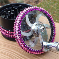 GRINDER -- Pink + Purple Stripe Crank