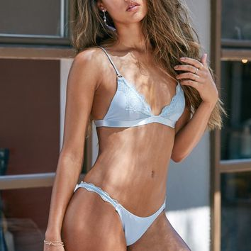 Blue Life Swim Magnolia Triangle Bikini Top at PacSun.com