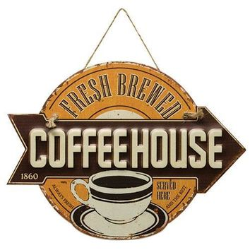 Fresh Brewed Coffee Sign