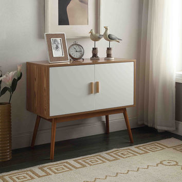 Convenience Concepts Oslo Storage Console | Overstock.com Shopping - The Best Deals on Coffee, Sofa & End Tables
