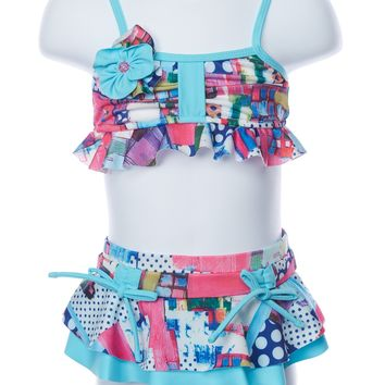 Isobella and Chloe Eureka Two Piece Swimsuit