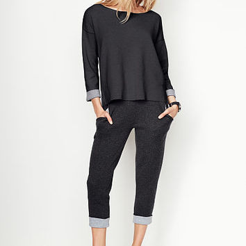 Cuffed Capri - A Kiss of Cashmere - Victoria's Secret