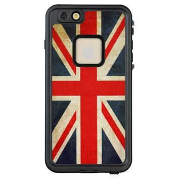 Vintage Union Jack British Flag LifeProof FRĒ iPhone 6/6s Plus Case