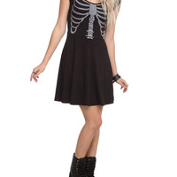 Teenage Runaway Rib Cage Dress