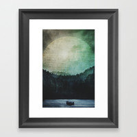 Great mystical wilderness Framed Art Print by HappyMelvin