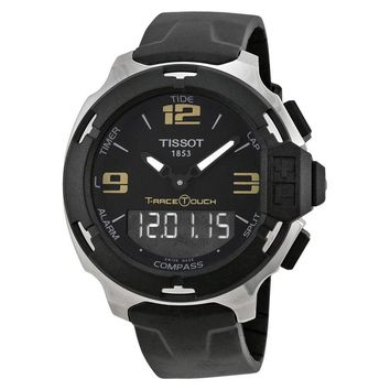Tissot T-Race Touch Analog Digital Dial Rubber Strap Mens Watch T0814201705700