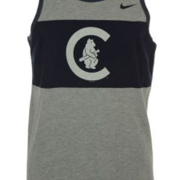 Chicago Cubs Nike MLB Men's Coop Tri Tank