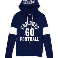 Dallas Cowboys Funnel-Neck Pullover