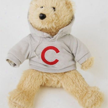 Chicago Cubs 8-Inch Hoody Bear