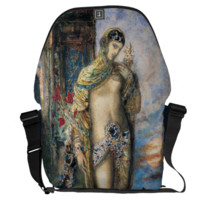 Song of Songs by Gustave Moreau Courier Bag