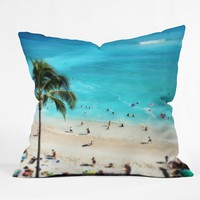 Deb Haugen my Waikiki Throw Pillow