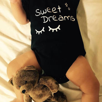 Sweet dreams, onies baby suit newborn baby | unisex | baby styling Baby Shower Gift