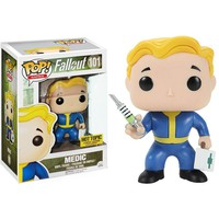 Fallout Medic Vault Boy Hot Topic Exclusive POP! Vinyl Figure