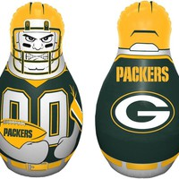 "Green Bay Packers 40"" Tall Tackle Buddy NFL Licensed Punching Bag"
