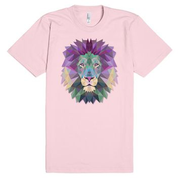 Lion Face Head Polygonal | T-Shirt | SKREENED