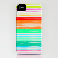 Waves_Multicolor2 iPhone Case by Garima Dhawan | Society6