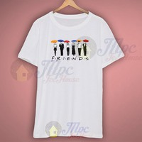 Friends Tv Show All Characters T Shirt - Mpcteehouse