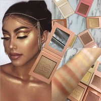 Beauty Glazed Brand Bronzer Highlighter Palettes Mineral Powder Face Shimmer Shine Brighten Contouring highlighters Makeup