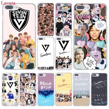 Lavaza KPop Seventeen JEONGHAN 17 Hard Coque Shell Phone Case for Apple iPhone 8 7 6 6S Plus X 10 5 5S SE 5C 4 4S Cover