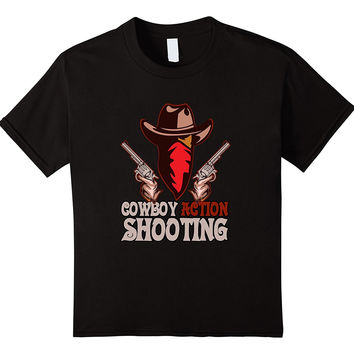 Cowboy Action and Shooting, Western T Shirt