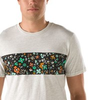 Vans Psych Floral Band Pocket Tee (Oatmeal Heather)