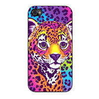 lisa frank hunter the leopard iPhone 4 4s 5 5s 5c 6 6s plus cases