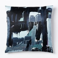Leah Durner Iron Pillow Cover