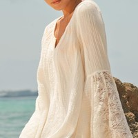 L Space 2014 Boardwalk Ivory Tunic BOATU14