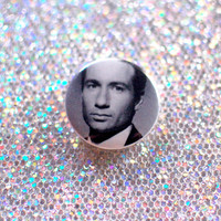 1 Fox Mulder Button / XFiles Pin by shopspacetrash on Etsy