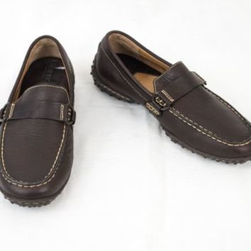 Born Shoes Driving Moccasin sz 6 EU 36.5 w2765 Brown Leather Casual Loafer Boat