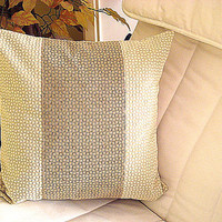 Centre banner – Square relief classical pillow cover 20x20