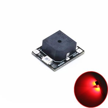 2pcs/lot LANTIAN NAZE32 F3 Super Loud Beeper LED Buzzer Alarm Tracker BB Ring for F3 Flight Controller FPV Racing Drone