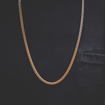 5.5mm Solid Gold Miami Cuban Chain
