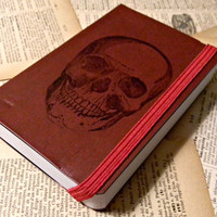 Skull Pocket Journal Sketch Book Pad