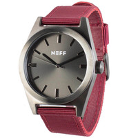 Neff - Nighlty Watch - Gunmetal/Maroon