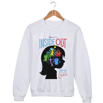 Inside Out Sweater sweatshirt unisex adults size S-2XL