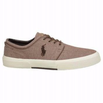 Polo Ralph Lauren Men's Faxon Low Fashion Sneaker