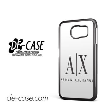 Armani Exchange White DEAL-959 Samsung Phonecase Cover For Samsung Galaxy S6 / S6 Edge / S6 Edge Plus