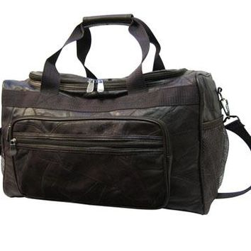 Leather Duffle Bag For Travel Or Gym | Paula's Bags